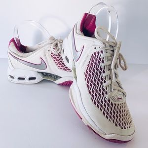Nike Air Max Dragon Cage Sz. 7 White/Pink/Silver